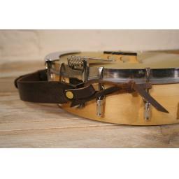 BLS52 Leather Banjo Strap (loop style)