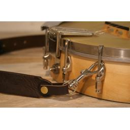 BLS52 Leather Banjo Strap (loop style)