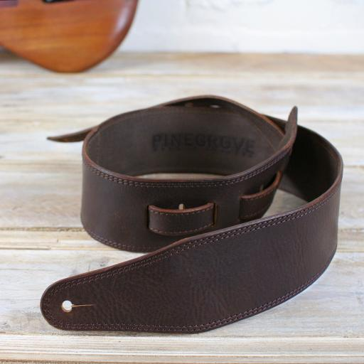"BS53 3"" (76mm) Wide Bass Strap - Brown"
