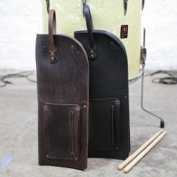 Vintage Style Leather Drumstick Bag