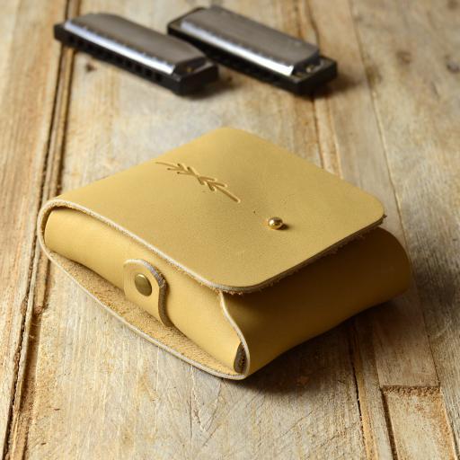 double harmonica belt pouch ivory DSC_0580.jpg