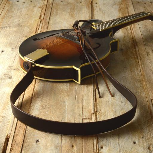 MS50 Mandolin Strap - Brown
