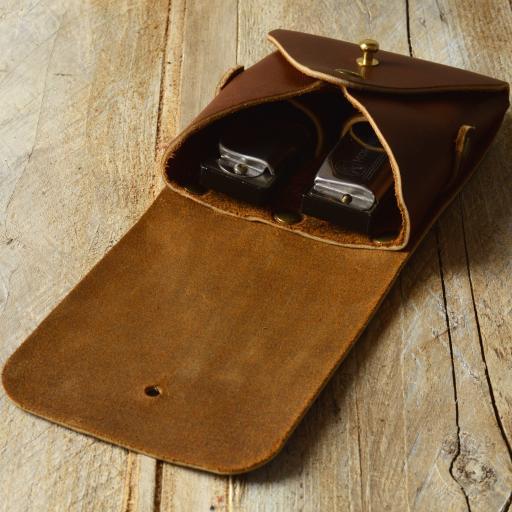 double harmonica belt pouch brown DSC_0577.jpg