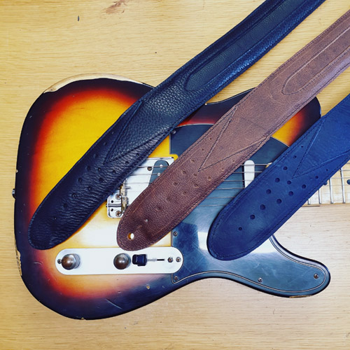 Pinegrove Leather GS75 Guitar Straps