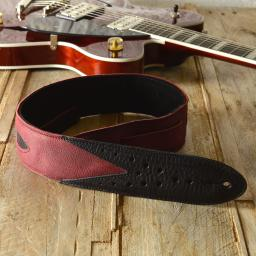 GS70 Skyrocket Guitar Strap - red & black