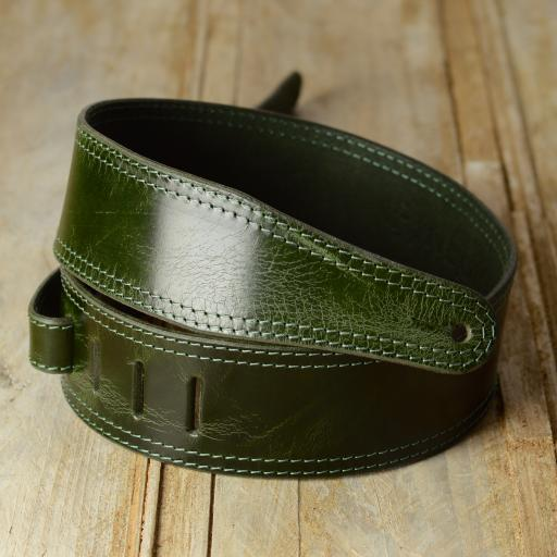 "GS41 2 3/8"" (60mm) Wide Guitar Strap - Limited Edition Green"