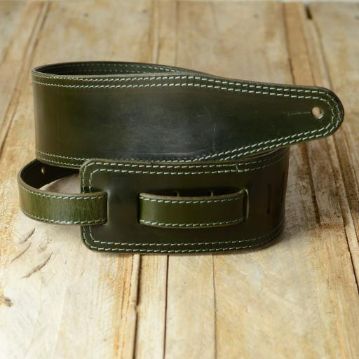 "BS53 3"" (76mm) Wide Bass Strap - Limited Edition Green"