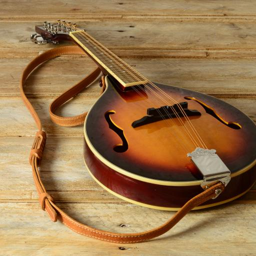 MS86 Mandolin Strap - Tan