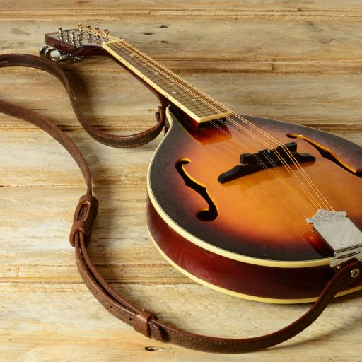 MS86 Mandolin Strap - Brown