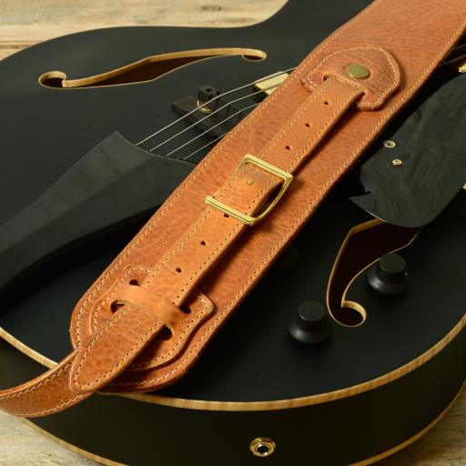 GS56 Conway Guitar Strap - tan
