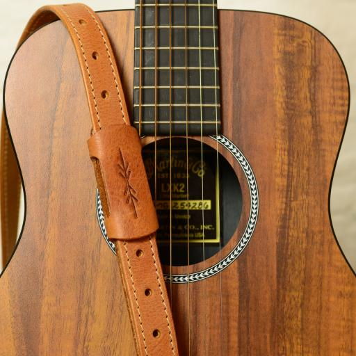 "GS88 1"" Travel Guitar Strap - Tan"