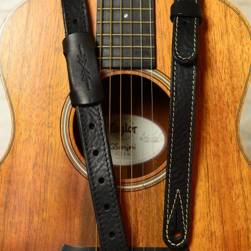 "GS88 1"" Travel Guitar Strap - Black"