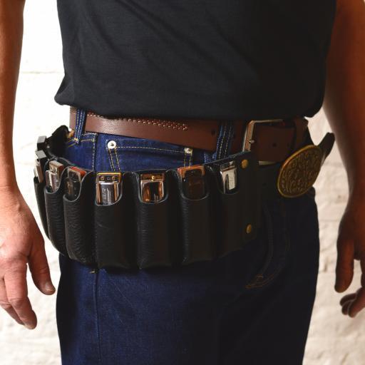 harp belt black on model DSC_0394.jpg