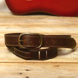 GS80 guitar strap brown white DSC_0888.jpg
